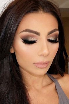 Glamour-Boasting and Simple Prom Makeup Ideas ★ See more: http://glaminati.com/prom-makeup-ideas/