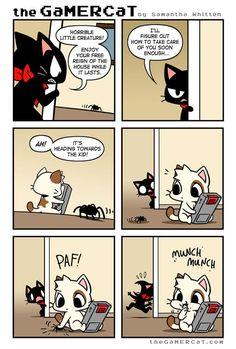 the GaMERCaT :: Creepy Crawly | Tapastic Comics - image 1