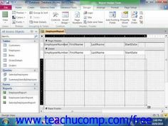 Learn hot to create subreports in Microsoft Access at www.teachUcomp.com. Get the complete tutorial FREE at http://www.teachucomp.com/free - the most comprehensive Access tutorial available. Visit us today!