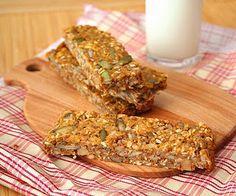 Nice healthy low-carb snack - Pumpkin Spice Seed Bars @Carolyn Rafaelian Ketchum #food/cooking #health #nutrition #diabetes #gluten free