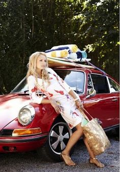 Kilpatrick Dress - Ole in Dove White Multi - Dresses - Shop Porsche Classic, Classic Cars, Porsche 911 Targa, Porsche Club, Auto Girls, Car Girls, Ferdinand Porsche, Vintage Porsche, Vintage Cars