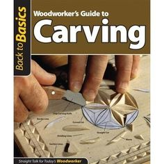 Learn Woodworking Woodworker's Guide To Carving - Cherry Tree Toys can provide you with all the woodworking supplies to complete project from woodworking plans, wood parts, lumber, clock parts and scroll saw plans. Woodworking Guide, Woodworking Skills, Woodworking Supplies, Easy Woodworking Projects, Popular Woodworking, Woodworking Furniture, Fine Woodworking, Wood Projects, Woodworking Workbench
