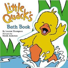 Little Quack Bath Book by Simon and Shuster | eBeanstalk