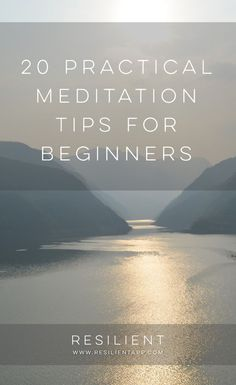 The most important habit I've formed in the last 10 years of forming habits is meditation. Hands down, bar none. Here are 20 practical meditation tips for beginners. Meditation For Anxiety, Meditation Benefits, Meditation For Beginners, Meditation Techniques, Daily Meditation, Meditation Practices, Meditation Music, Mindfulness Meditation, Meditation Retreat