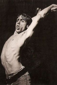 iggy Pop, at the Capitol Theater in Port Chester, Sept. 14, 1988. I wasn't impressed.