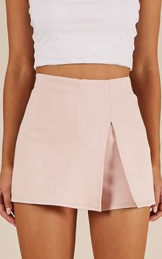 Showpo Mellow Out skort in blush – 12 (L) Skirts Trendy Fall Outfits, Summer Outfits, Cute Outfits, Cute Skirts, Mini Skirts, Blush Skirt, Skirt Fashion, Fashion Outfits, Tennis Clothes