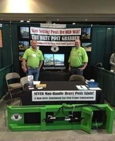 Scott and Aaron here with #thebrutpostgrabber who are working hard at the #Spokaneagexpoandpacificnorthwestfarmforum #spokaneexpos CONGRATULATIONS, Shepard's Grain and LaCrosse FFA this years excellence in #agricultureawardwinners. Be sure to say hi to Scott and Aaron everyone. #DoubleTeamPromotionSocialMedia #TheBrutPostGrabber