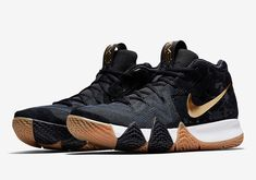 77f1d0d4266e Nike Kyrie 4 Pitch Blue Launches This Week  Pitch Kyrie Irving Shoes