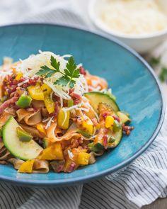 Pasta Recipes, Nom Nom, Main Dishes, Food And Drink, Veggies, Healthy, Pasta Food, Foodies, Tagliatelle