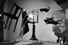 making of dali atomicus (salvador dalí ) photo poster P. HALSMAN 1948 24X36