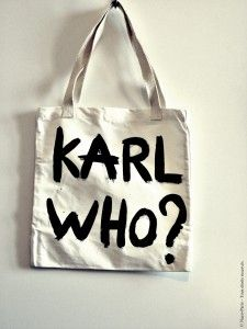 Naco Paris KARL WHO? Bag