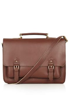 Classic Leather Satchel - Bags & Wallets - Bags & Accessories