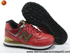 New Balance NB 574 Year of Dragon word Red Golden Black For Men shoes For Sale