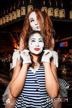 Mime Makeup, Clowns, Photos, Photographs, Imperial Crown