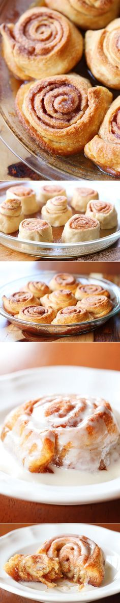 Easiest cinnamon buns ever!! They're soft, chewy, ooey, gooey, supremely buttery, and divinely sugary.