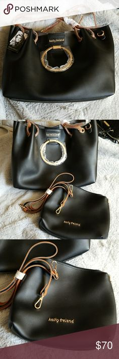 Kathy Ireland bag with 2nd bag inside. New. Lots of room. 2nd bag for the convenience. Kathy Ireland Bags Crossbody Bags