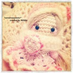 crochet by *soraironoyume* MISHA http://ameblo.jp/soraironoyume-misha/entry-11695168229.html