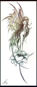 Cute Fairy Tattoo I personally prefer my fairies to wear clothes but WHAT EVES