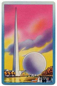 1939 New York World's Fair Playing Card