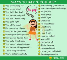 99 Powerful Ways to Say GOOD JOB in English - 7 E S L