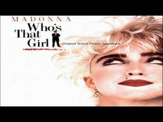 Madonna - Who's That Girl album 1987