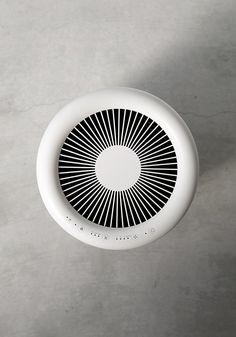 MUJI MJ-AP1 | まったく新しいデュアルカウンターファンによって、小型ながら強力な循環気流を生み出します。