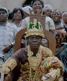 Togbe Ngoryifia Cephas Kosi Bansah, King of the Ewe people in Ghana