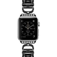 Apple watch band, women crystal diamond bling link bracelet strap, Stainless Steel metal wrist belt watchband Iwatch For 40 mm series 5 4 3 - US Fast Shipping Apple Watch Bands Fashion, Apple Watch Bands 42mm, Cool Watches, Watches For Men, Apple Watch Wristbands, Apple Watch Faces, Metal Clock, Country Jewelry, Leather Fashion
