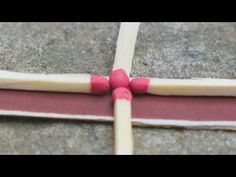 3 life hacks with matches - YouTube