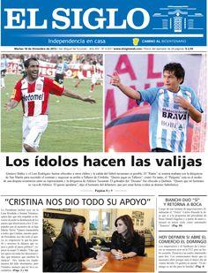 Diario El Siglo - Martes 18 de Diciembre de 20 12