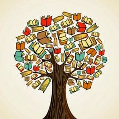 Clipart of Education concept tree with books - Search Clip Art, Illustration Murals, Drawings and Vector EPS Graphics Images -