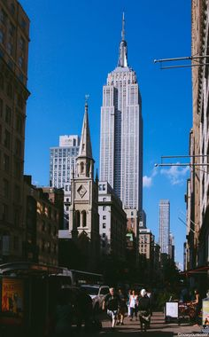 The Empire State Building. NYC
