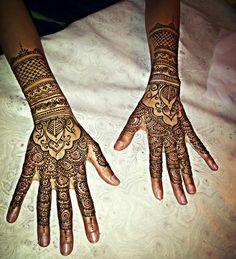 Bridal henna #henna by Husnaa Kajee #beautiful Mendhi