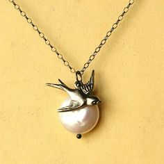 I just love bird jewelry