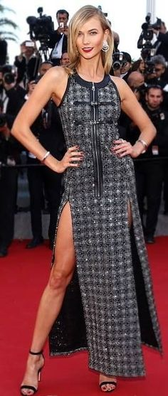 Karlie Kloss | Louis Vuitton | Premiere of 'Youth' | 2015 Cannes Film Festival