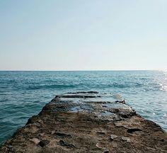Deniz evliyadır dediler. Siz karar verin.. Deniz büyük, kepçe küçük ...