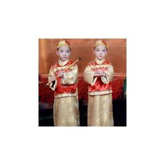Kids Traditional Chinese Costume ($26) ❤ liked on Polyvore featuring kid fashion and women