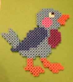 sandylandya@outlook.es  Blue Bird hama beads by TheMissBlue