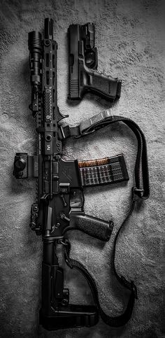 Build Your Sick Custom Assault Rifle Firearm With This Web Interactive Firearm Gun Builder with ALL the Industry Parts - See it yourself before you buy any parts Military Weapons, Weapons Guns, Airsoft Guns, Guns And Ammo, Military Tactical Gear, Armas Wallpaper, Custom Guns, Custom Ar15, Templer