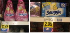 LAST DAY ~ **NEW COUPON JUST POPPED UP**    KROGER COUPON DEAL:  Snuggle Fabric Softener or Sheets ONLY $1.99!!