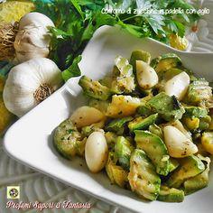 Contorno di zucchine in padella con aglio Blog Profumi Sapori & Fantasia