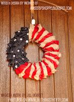 Red, white, and blue Wreath idea!