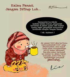 Larangan dan ok Hadith Quotes, Muslim Quotes, Quran Quotes, Religious Quotes, Hijrah Islam, Islamic Cartoon, Anime Muslim, Islamic Quotes Wallpaper, Learn Islam