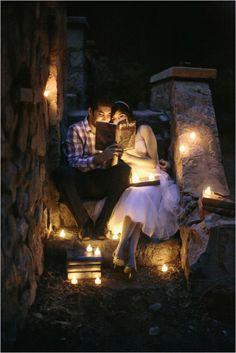Le Magnifique Blog - Wedding Inspiration - www.lemagnifiqueblog.com: A Magical Engagement Session by Kristen Booth Photography