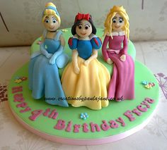 Disney Princess Cake - For all your cake decorating supplies, please visit craftcompany.co.uk