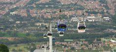 Cinco ciudades dan ejemplo al país. El cable aéreo de Manizales le trajo una nueva forma de transporte a la ciudad.
