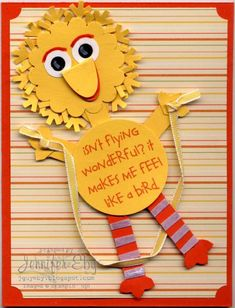 Big Bird by jguyeby - Cards and Paper Crafts at Splitcoaststampers