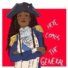 laDIES AND GENTLEMEN (Here comes the general) THE MOMENT YOU'VE BEEN WAITING FOR<--literally fangirling over female Washington