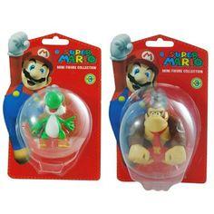 Super Mario Brothers Yoshi and Donky Kong Figurine Bundle