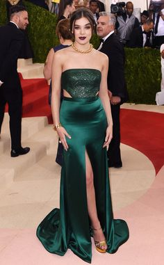 Hailee Steinfeld from Met Gala 2016: Red Carpet Arrivals  In H&M